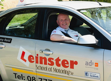 Danny Reid Driving Instructor giving Driving Lessons in Dublin