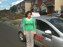 Kelly Keane Passed Driving Test with Simon Enright Carlow Driving Test Centre