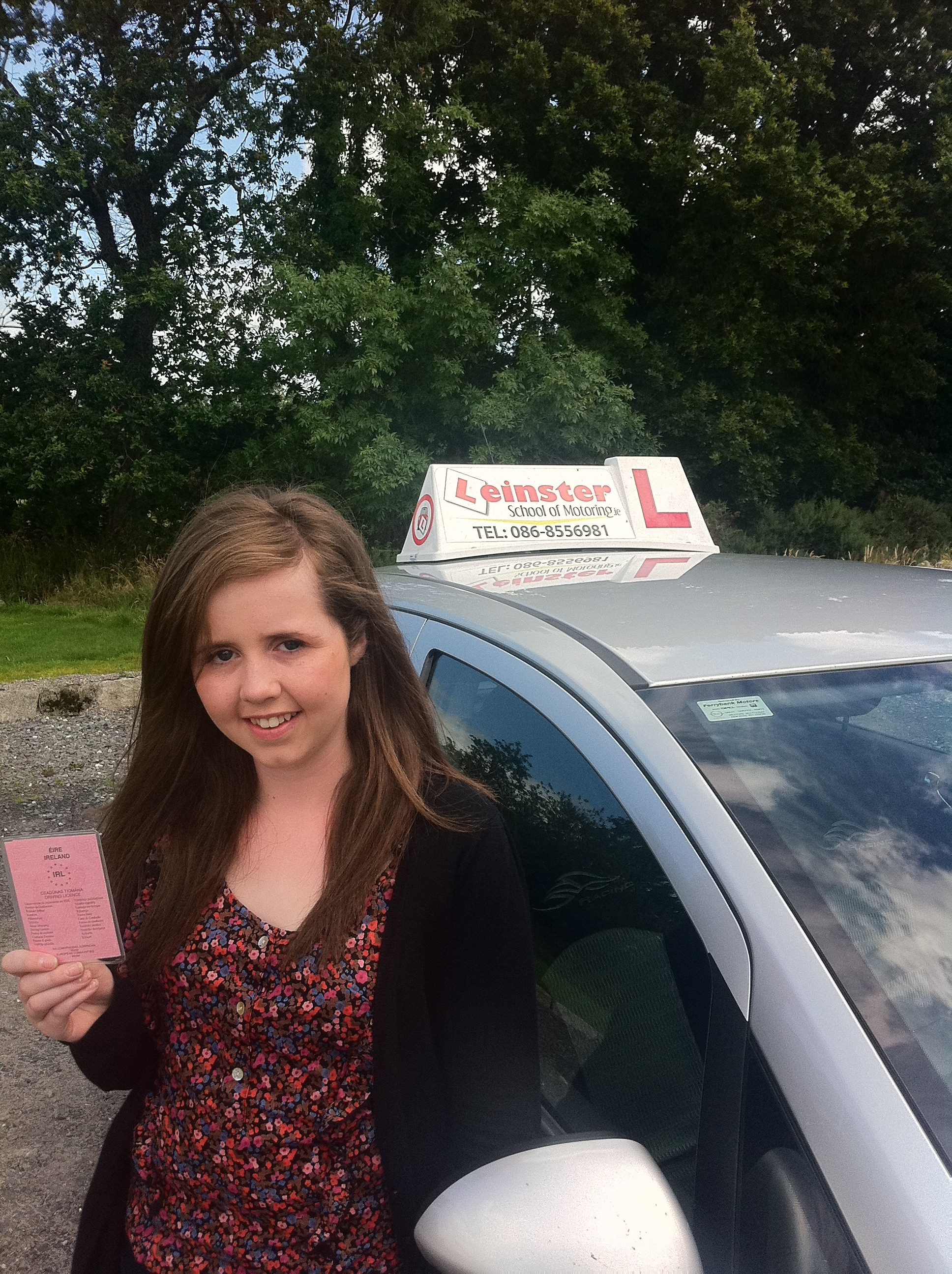 Claire Murphy Passed Driving Test with Fergal O'Connor Gorey Driving Test Centre