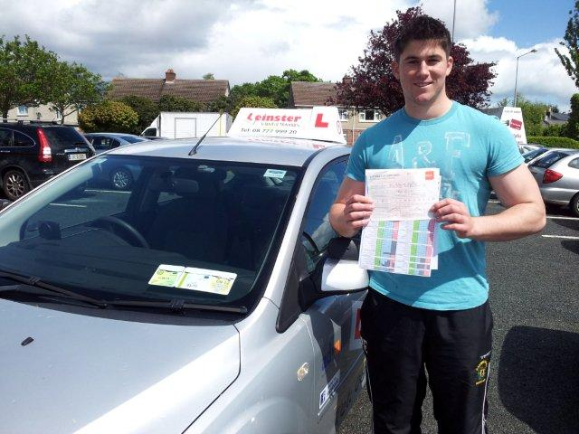 Pass your driving Test with Danny Reid Dublin Driving Instructor Testimonials
